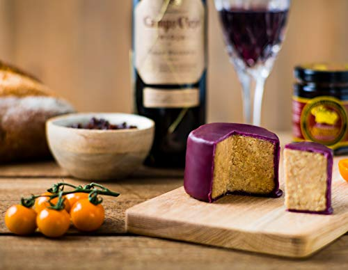 Karamellisierte Zwiebeln & Rioja Cheddar 200g mit Wachs umfasst