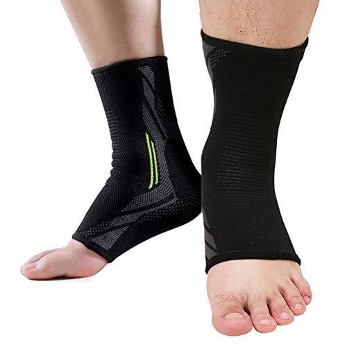 WINBST Fussbandage Fußbandage Fußgelenk Fersensporn Bandage Knöchel Laufen Sport für effektive Schmerzlinderung Premium Bandage Sprunggelenk