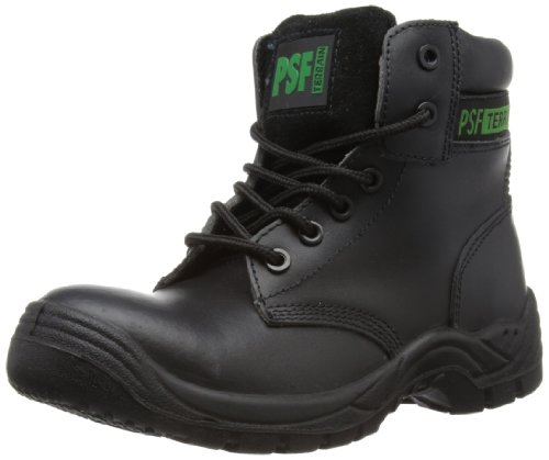 Psf Safety, Unisex-Erwachsene Chukka Boots, Schwarz, 38 EU (5 UK) Safety Chukka Boot