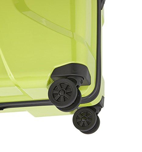 TITAN X2 Hartschalenkoffer Größe M+, 825407-28 Koffer, 71 cm, 90 L, Fresh Pink Lime Green