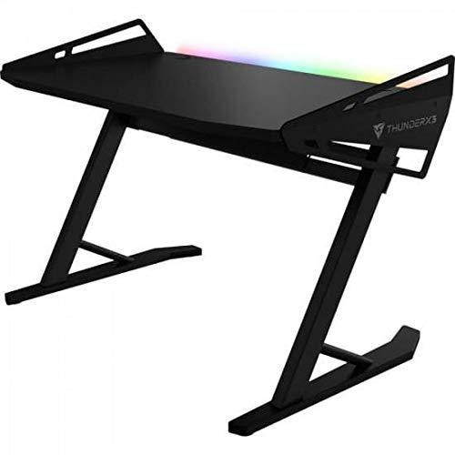 ThunderX3- Mesa gaming iluminación RGB altura ajustable