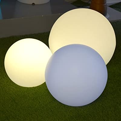 3er Set s`luce GLOBE iLight Kugelleuchten / RGBW-LED 8W + Fernbedienung von s`luce auf Du und dein Garten