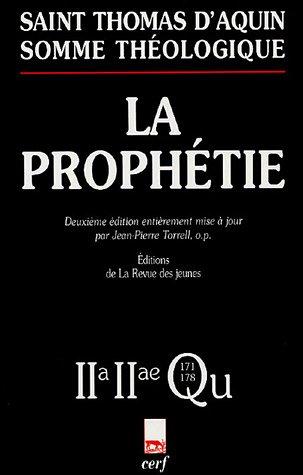 La Prophétie : 2-2, Questions 171-178 par Thomas d'Aquin