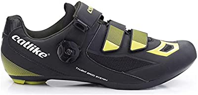Zapatillas Catlike Talent Road Negro-Neon 2017