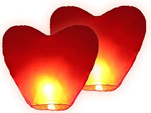 European - corazón san valentín volador pack 2 und