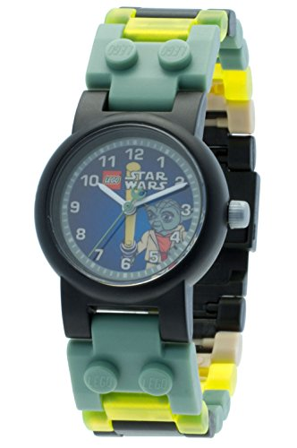 LEGO Star Wars Yoda Armbanduhr blaues Ziffernblatt (Figur)