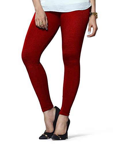 Lux Lyra Women\'s Ankle Length Leggings -Parry Red