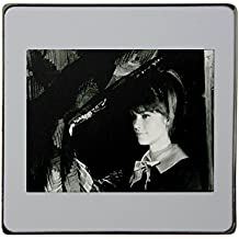 Françoise Hardy metal square fridge magnet