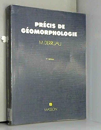 Prcis de gomorphologie