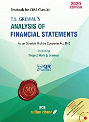 T.S. Grewal's Analysis of Financial Statements: Textbook for CBSE Class 12 (2020-21 Sess