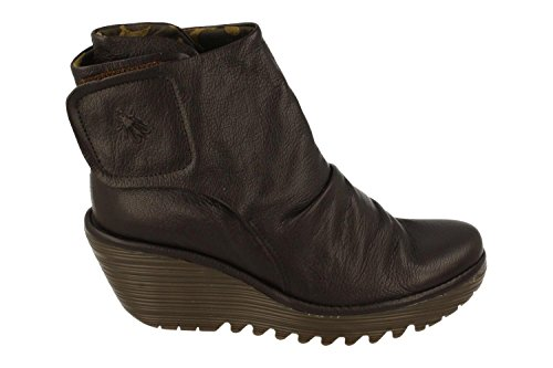FLY London Damen Yomi765fly Stiefel Braun (Chocolate)