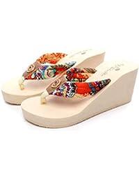 cfbb8295e1a Amazon.es  No Es Lo Mismo - Sandalias y chanclas   Zapatos para ...