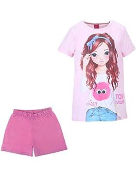 Niñas Top Model Pijama, rosa