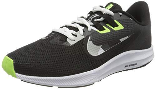 Nike Downshifter 9, Zapatillas para Correr para Hombre, Black/White/Particle Grey/Dk Smoke Grey/Ghost...