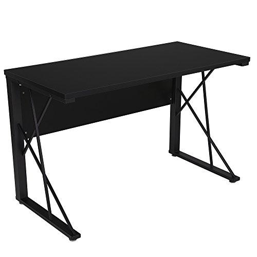 SONGMICS Computertisch, Schreibtisch, großer Gaming Schreibtisch, Arbeitsfläche , Bürotisch ,für