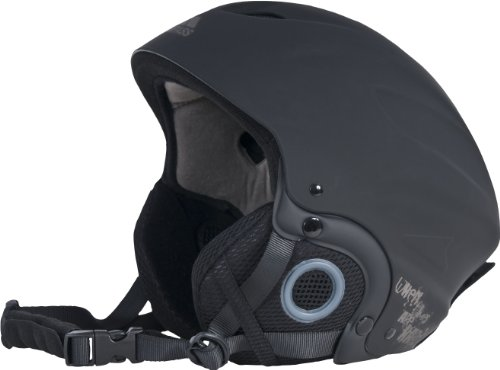 Trespass sky high neve sport casco, uomo, sky high, nero, m