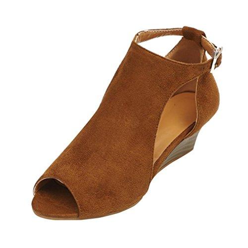 Chenang-2018Scarpe-da-DonnaSandali-da-Donna-da-Estate-Piatti-Modello-con-Infradito-Zeppa-E-Cinturino-alla-Caviglia-Scarpe-Aperte-con-Tacco