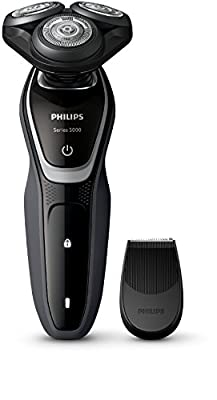 Philips Series 5000 Wet & Dry Men's Electric Shaver S5210/06 with Precision Trimmer