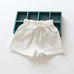 Toddler Kids Shorts, Transer® Children Summer Cotton Shorts 1-6 Years Baby Girls Short Pants Infants Fashion Pants