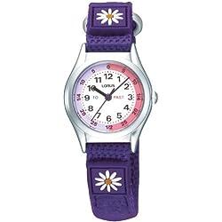Lorus Time Teacher Watch Purple RG243HX9