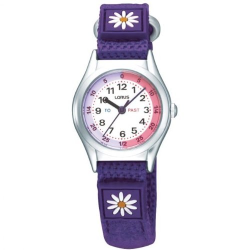 Lorus Time Teacher Watch Purple RG243HX9
