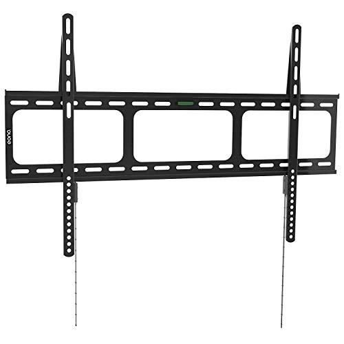 Eono Essentials - Soporte de pared fijo para televisión de 42-100 pulgadas - Capacidad de carga de 100 kg, VESA 800 x 600 mm