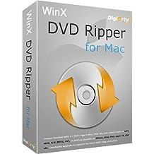 WinX DVD Ripper for Mac Kopiergeschützte DVDs sichern und rippen auf in MP4, M4V, H.264, Mac iTunes iPhone iPad Android, 1:1 DVD auf Mac, in ISO, MPEG2. (direct download)