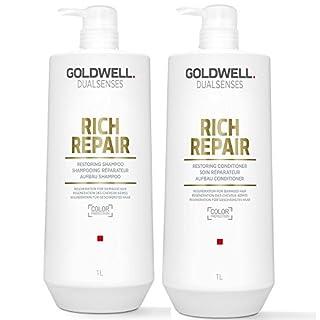 Goldwell Dualsenses Rich Repair Restoring Shampoo 1000ml und Conditioner 1000ml