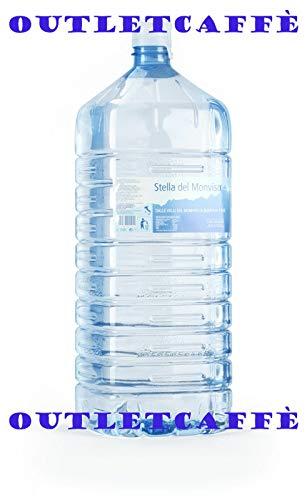 4 boccioni borraccia vuoti 18 litri per colonnina acqua dispencer erogatore refrigeratore usati