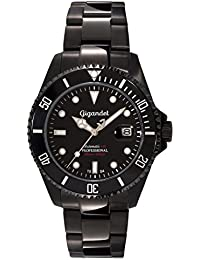 Gigandet Sea Ground Automatic Men's Analogue Diver Watch Black G2-003