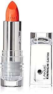 Lakme Enrich Satins Lip Color, Shade R364, 4.3 g