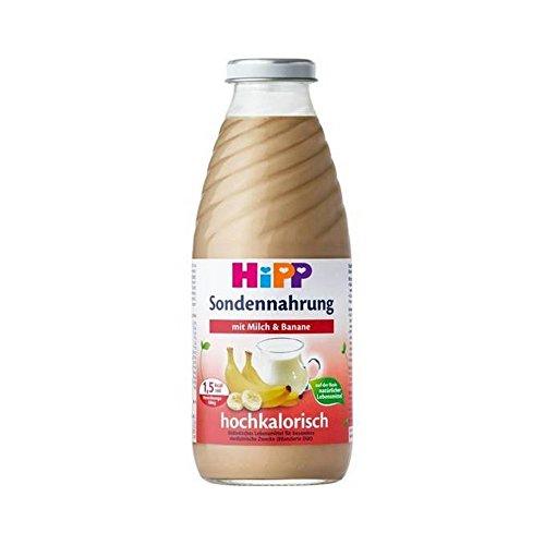 Preisvergleich Produktbild HIPP Trink- und Sondennahrung - Milch mit Banane - 500 ml - 750 kcal - Weithals - 12 Flaschen - 1 Karton