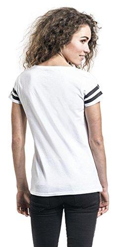 Harry Potter 4 Guild Crest T-shirt Femme blanc Blanc