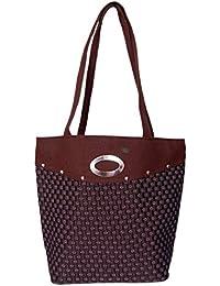 Womaniya Women's Shoulder Bag (Brown-Woman-912)