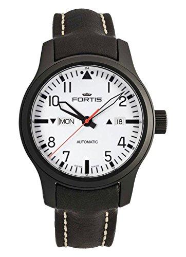 Fortis Hombre Reloj de pulsera b de 42Nocturnal Fecha Día de la semana analógico automático 655.18.12L.01