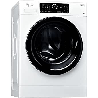 Whirlpool fscr90430autonome Belastung Bevor 9kg 1400tr/min A + + +-50% weiß Waschmaschine–Waschmaschinen (autonome, bevor Belastung, weiß, Oberfläche, links, schwarz)
