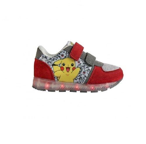 Zapatillas-deportivas-con-luz-Pokemon-Pikachu-Talla-29