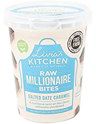 Livia's Kitchen Large Salted Date Caramel Millionaire Bites,180 g