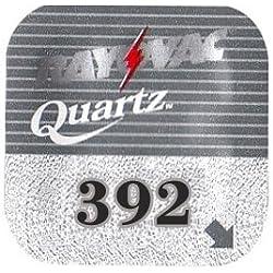 GP Boîte de 10 piles auditives Rayovac RAY392Q 1 Pile bouton à oxyde d'argent pour montre en vrac