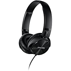 Philips SHL3750NC/00 Noise Cancellation Headphones (Black)