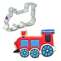 Ann Clark Train Cookie Cutter - 4.5 Inches - Tin Plated Steel
