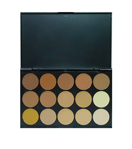 ADS Ultimate Concealer Contour Powder Palette (15 Colors)