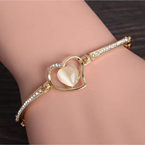 YDXJJ Armband Summer Round Crystal Jewelry Charm Bracelet & Bangles Fußkettchen Für Frauen Gold Armbänder Für Frauen