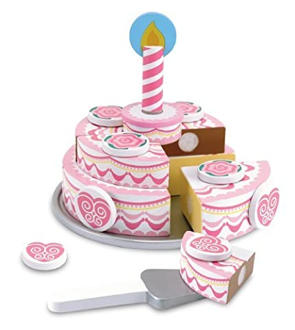 Melissa & Doug Triple-Layer Party Cake by Melissa & Doug - Triple Layer Cake
