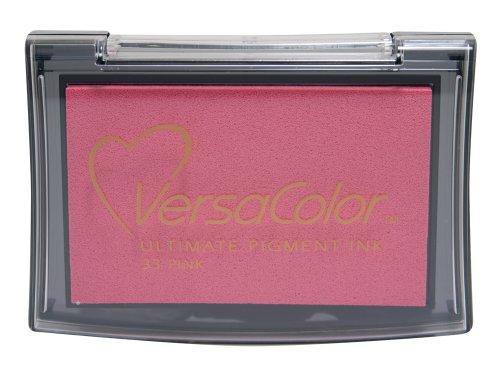 Versacolor-Almohadilla de tinta, rosa