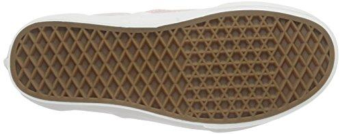 Vans Classic Slip-On, Baskets Basses Mixte Adulte Rose (Croc Emboss/Iced Pink/Blanc de Blanc)