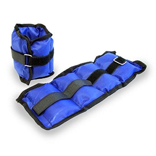 2x verstellbar Knöchel Handgelenk Bein Gewichte Training Fitness Running Packungen Träger Fitness 2Kg