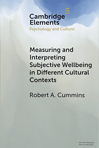 Measuring and Interpreting Subjective Wellbeing in Different Cultural Contexts: A Review and Way Forward