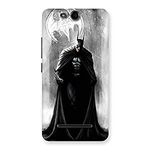 White Moon Knight Back Case Cover for Micromax Canvas Juice 3 Q392