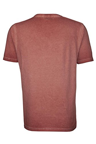 camel active Herren T-Shirt 1/2 Rose